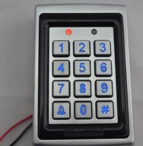 access control metal body