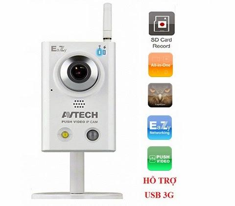 camera wifi 3g avtech AVN815EZ