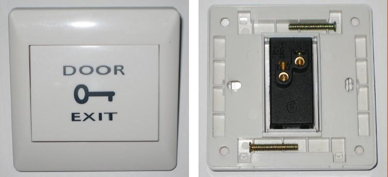 Exit Button Locktronix