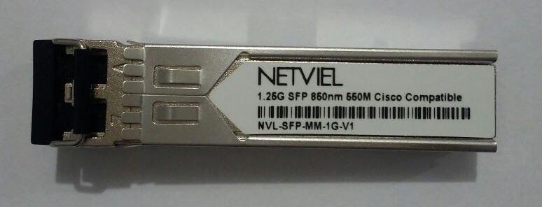 Netviel NVL-SFP-MM-1G-V1 Depan