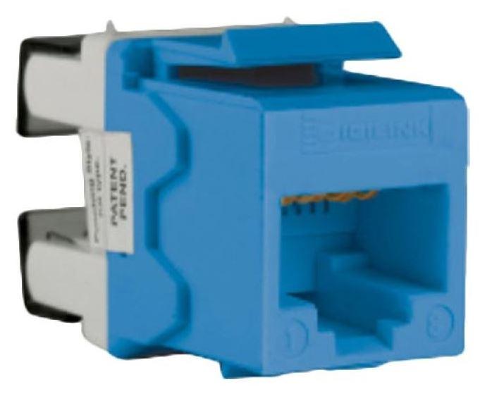 Schneider Modular Jack Blue
