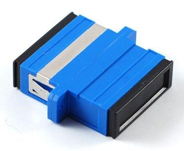 sc-sc-sm-duplex-adapter blue