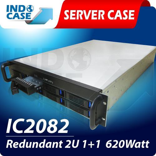 Indocase 2082 Redundant 2u 1+1 620 Watt